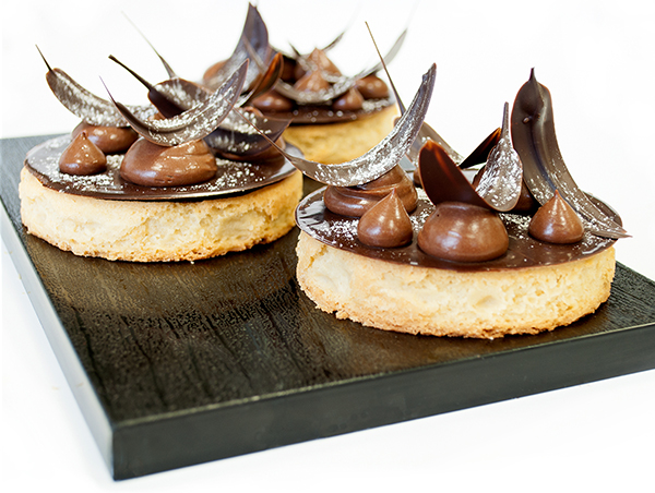 Tartas de Chocolate al Brandy